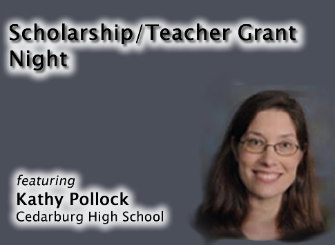 Scholarship/Grant Night featuring Kathy Pollock of Cedarburg High School