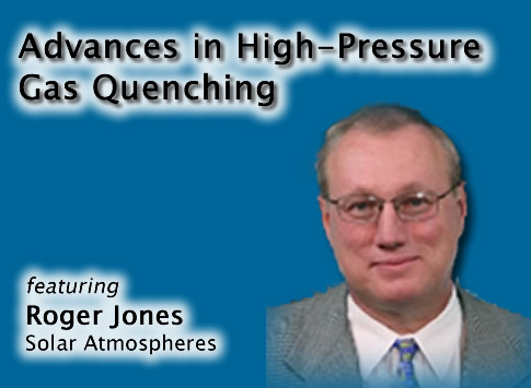 Advances in High-Pressure Gas Quenching