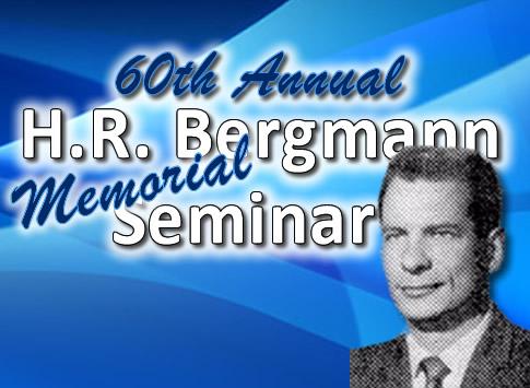 60th Annual Bergmann Seminar