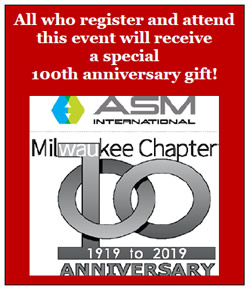 All who register and attend this event will receive a special 100th anniversary gift!