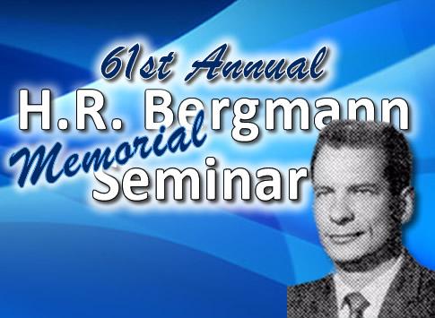 61st Annual Bergmann Seminar
