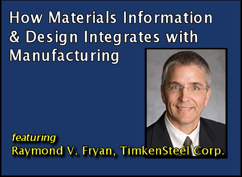 How Materials Information & Design Integrates with Manufacturing